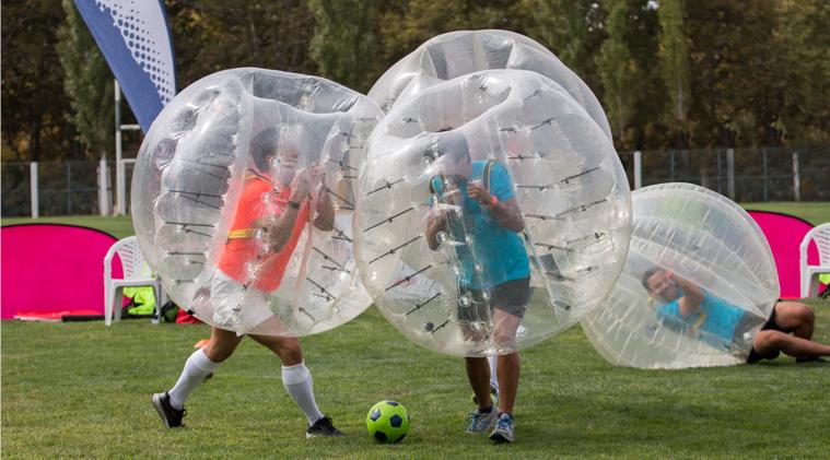 Bubble Soccer Tournament