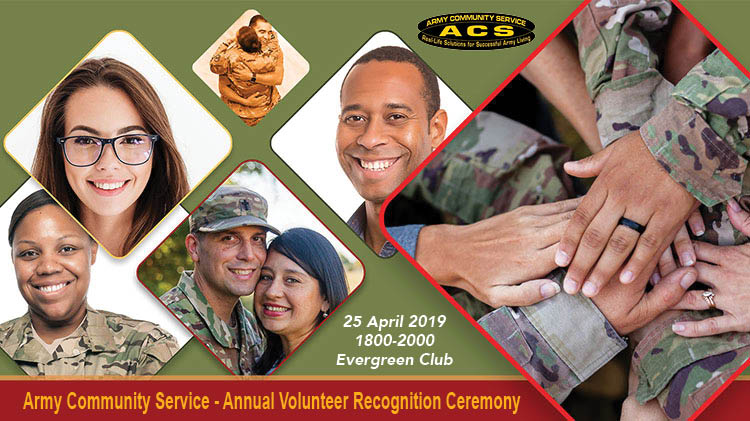 ACS - Annual Volunteer Recognition Ceremony