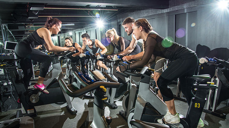INDOOR CYCLING - CARROLL FITNESS CENTER