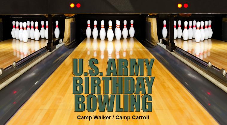 U.S. Army Birthday Bowling